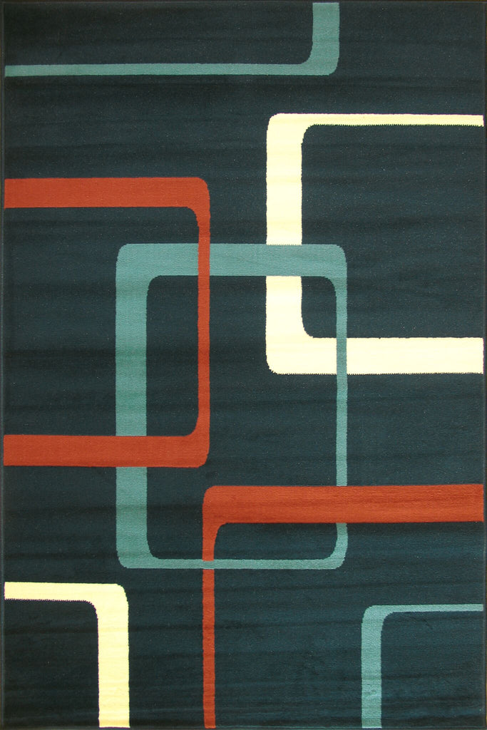 Bello Modern Square Pattern Rug