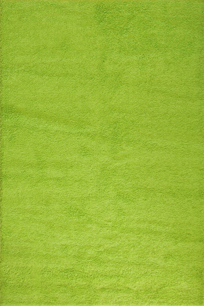 Green Shaggy Plain Rug Luxuriously Soft - Interior Design Style - Australia