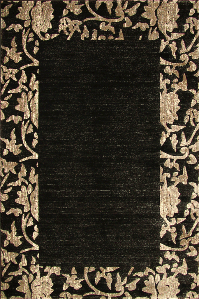 Alpi Contemporary Border Rug