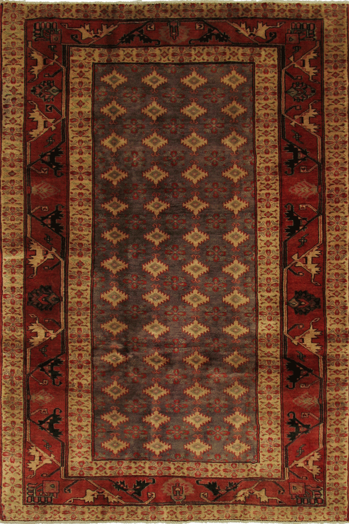 Gholtogh Hand Knotted Geometric Wool Rug