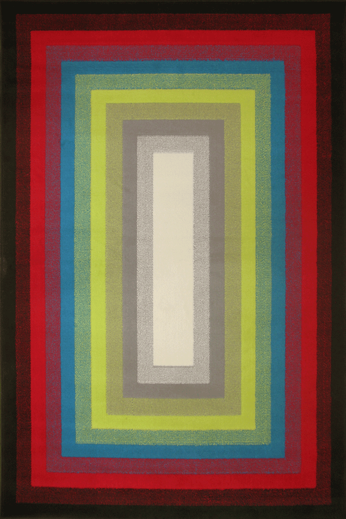 Best Modern Border Rug  889-BJ4X