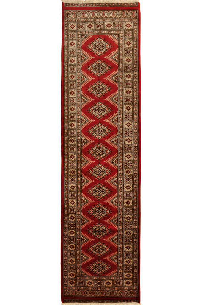 Princess Bokhara Hand Knotted Wool Hall Runner