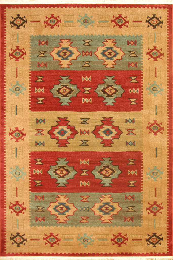 Dallas Traditional Geometric Rug