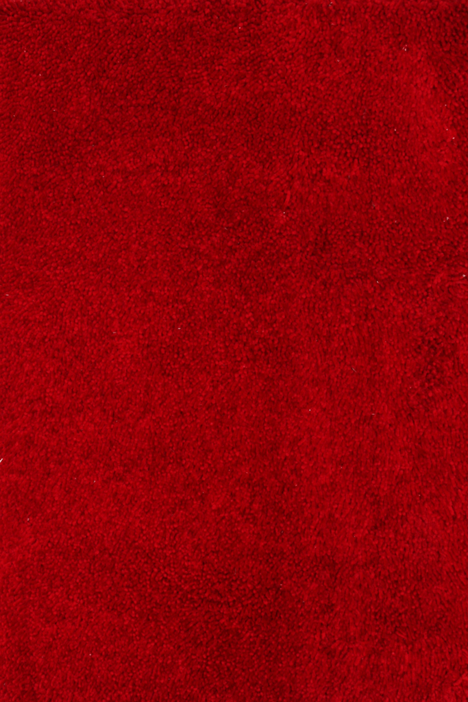 Red Luxurious Shaggy Rugs - Contemporary Interior Design Style - Australia