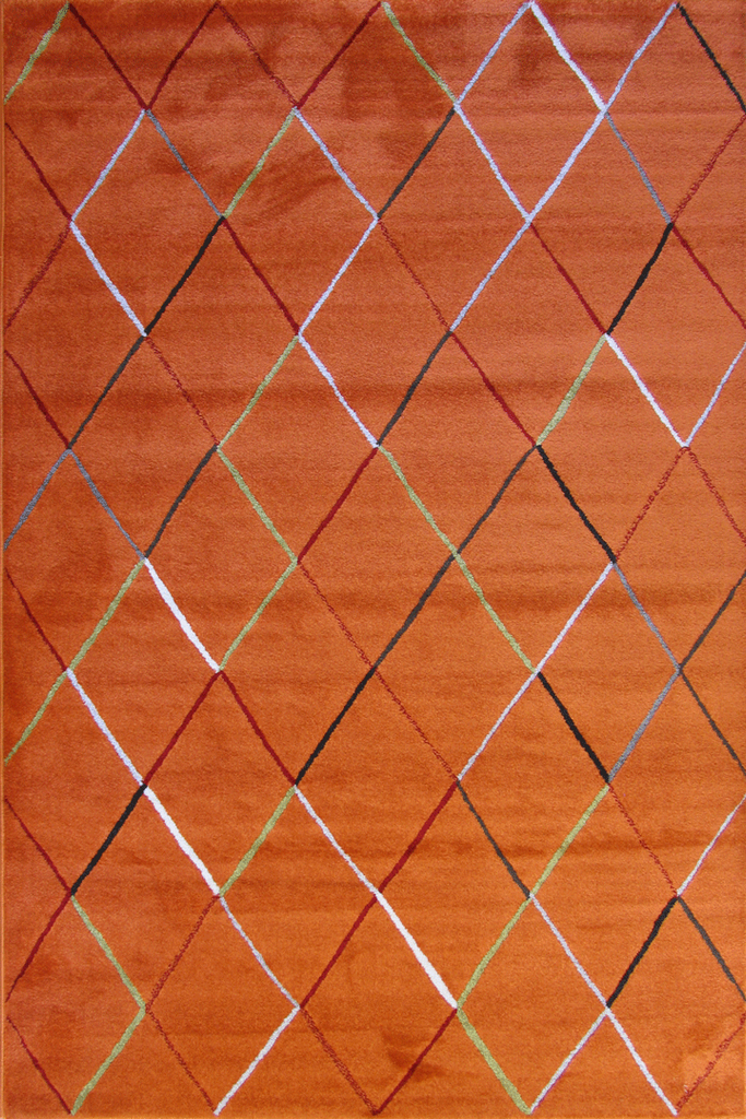 Barcelona Modern Diamond Pattern Rug
