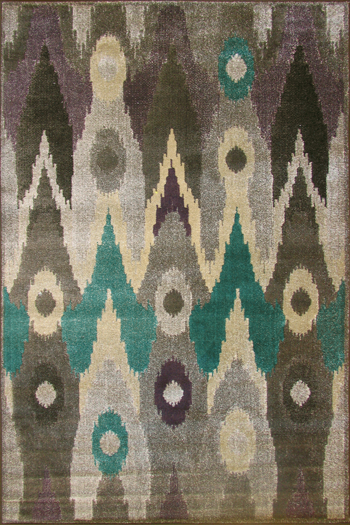 Funky Contemporary Abstract Rug