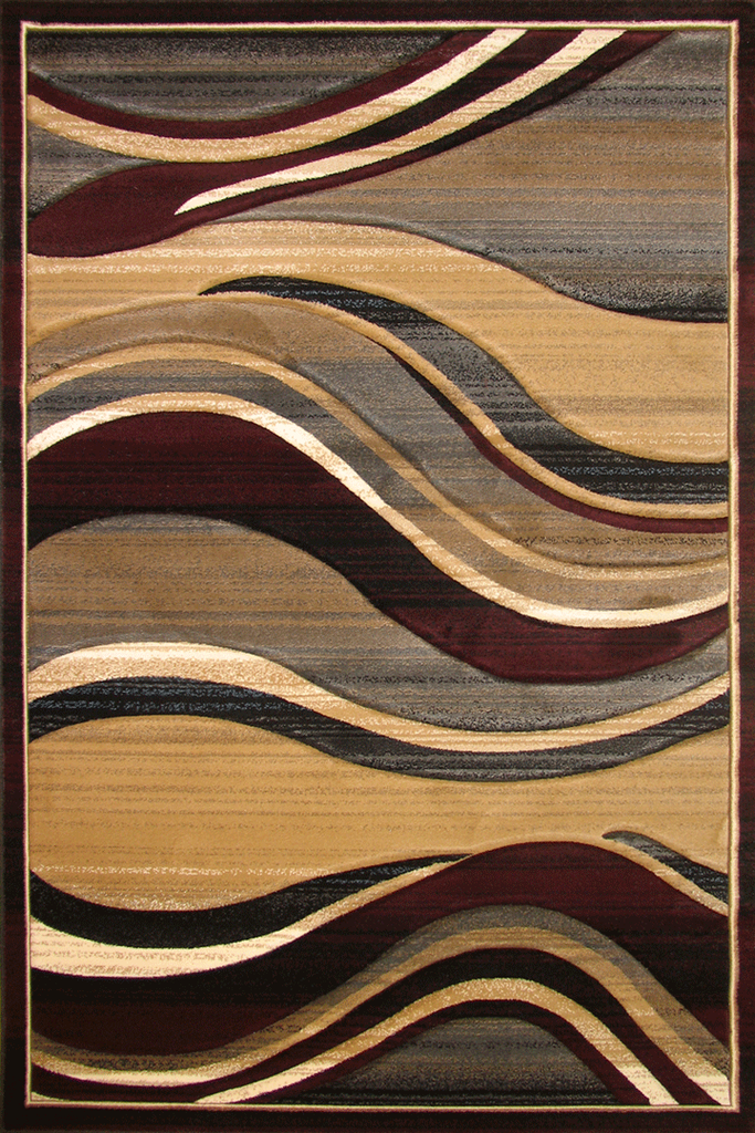 Pisa Contemporary Wavy Rug