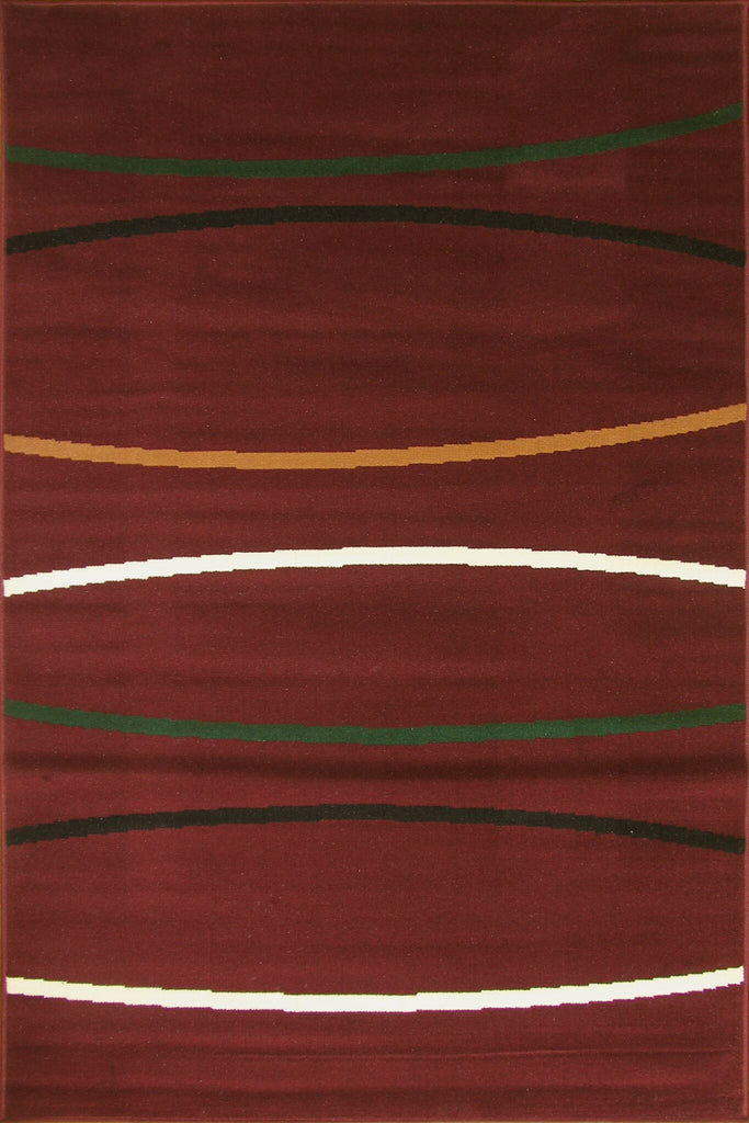 Bello Modern Abstract Striped Rug
