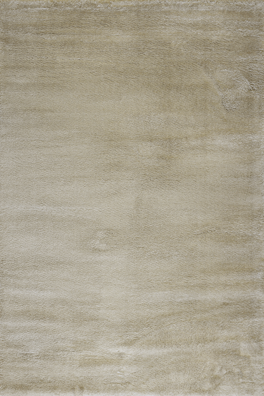 Beige Taupe Shaggy Luxurious Plain Rug - Contemporary Interior Design Style - Australia