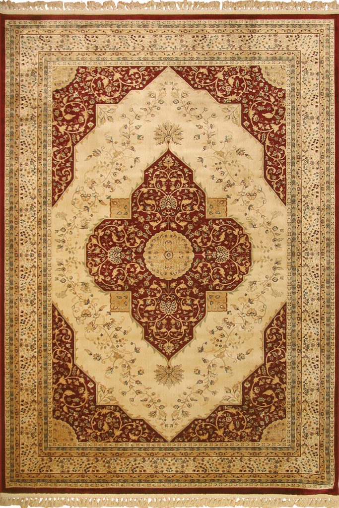Mosaic Traditional Floral Rug