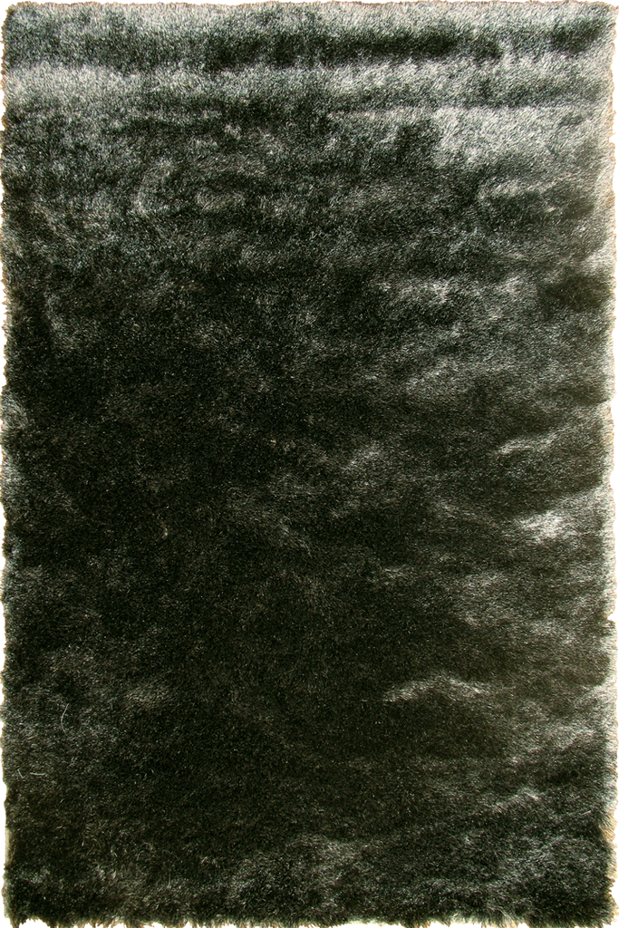 Charcoal Grey Shaggy Luxurious Plain Rug - Interior Design Style - Australia