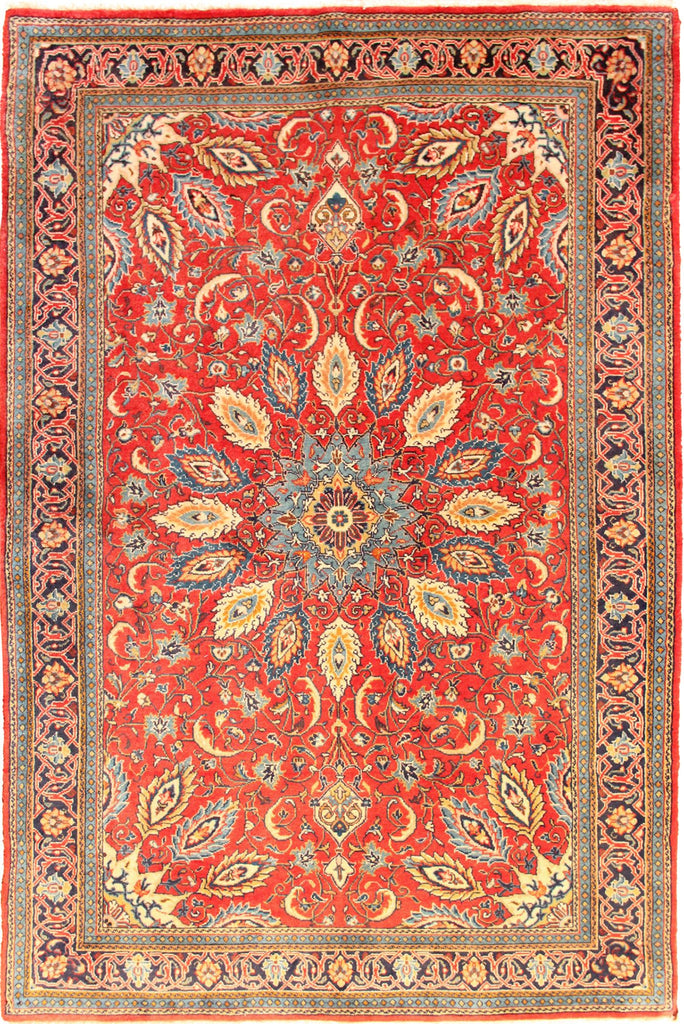Hamedan - Persian Hand Knotted 100% Wool Rug - 230x132 cms