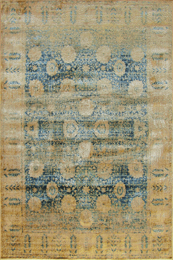 Preziosa Contemporary Abstract Distressed Rug