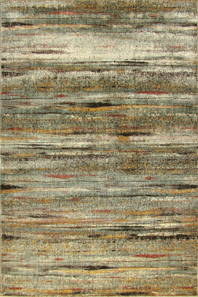 Preziosa Contemporary Striped Distressed Rug