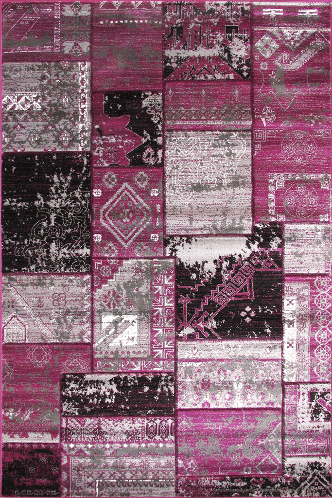 Patchworks Contemporary Abstract Rug