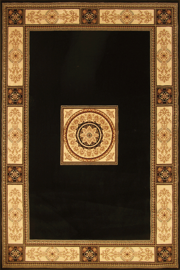 Perth Contemporary Medallion Rug