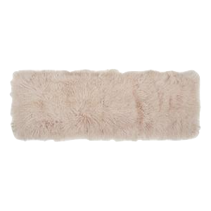 Sheepskin Plate Blush-Bed Linen-Canvas Home Interiors Australia