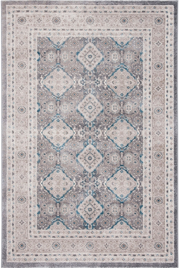 Loren Traditional Medallion Rugs E366A L.Grey Bone
