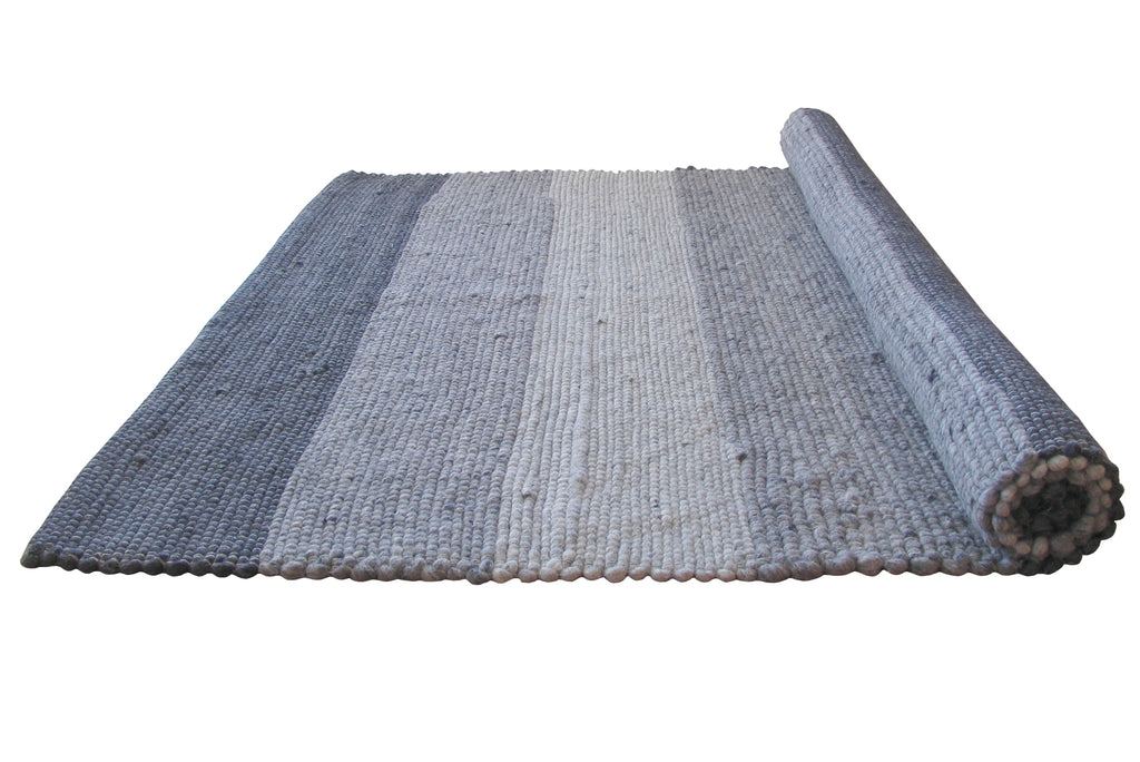Stripes Hand Loomed Flatweave Rug