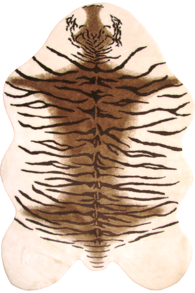 Faux Brown Tiger Hide - Interior Design Style - Australia