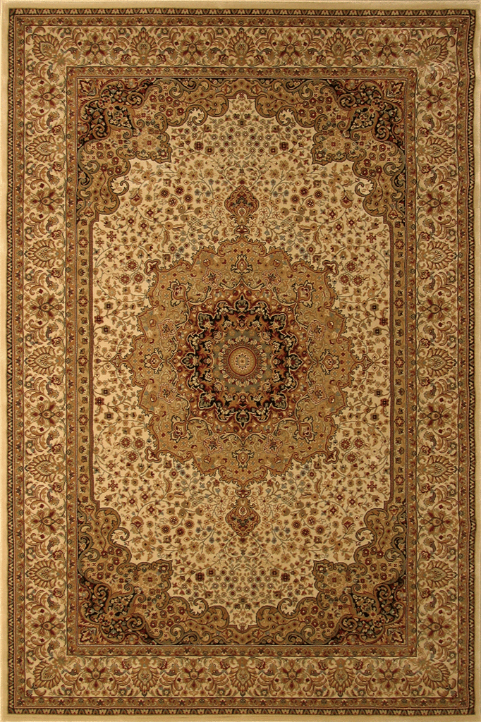 Venetian Traditional Floral Medallion Rug