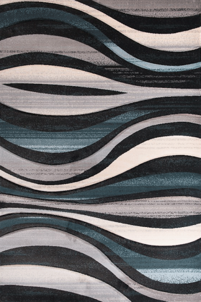 Pisa Contemporary Wavy Rugs