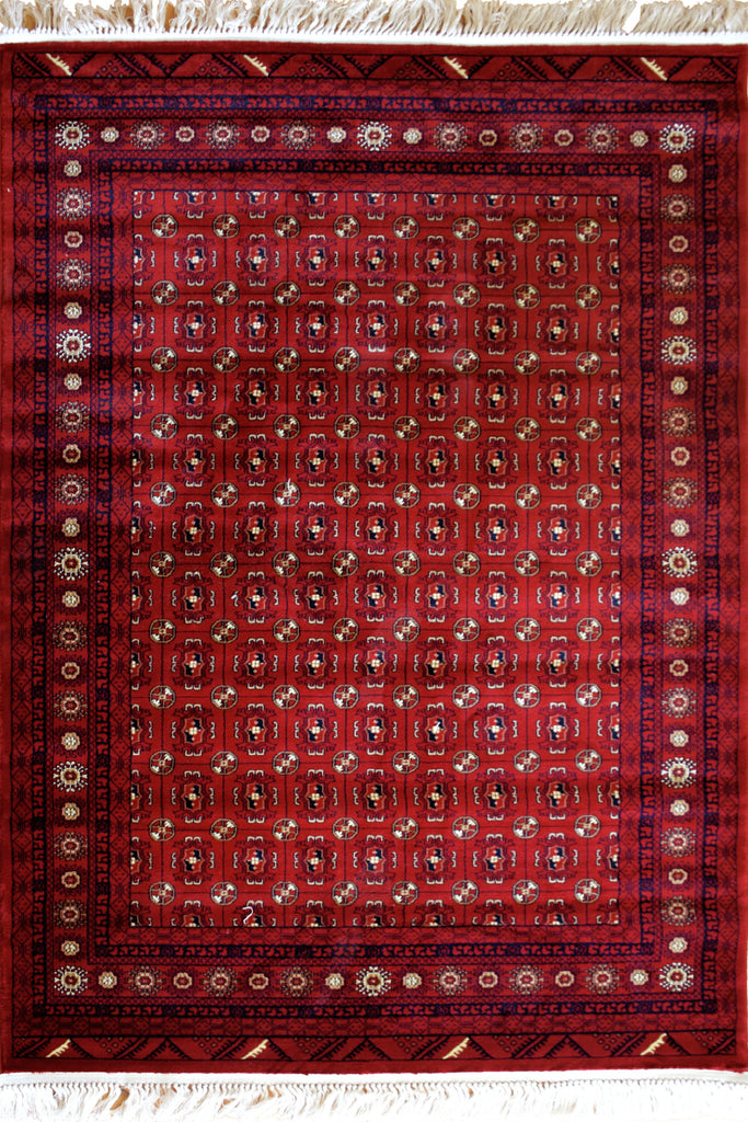 Afghan Traditional Geometric Rug
