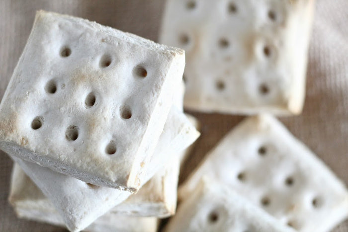 Today I want to show you how to make hardtack
