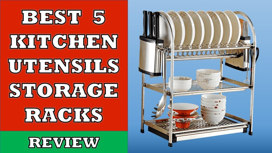 In this video we have done review of Top 5 Best Kitchen Utensils Rack in India that you can use to keep your plates, dishes and bowls