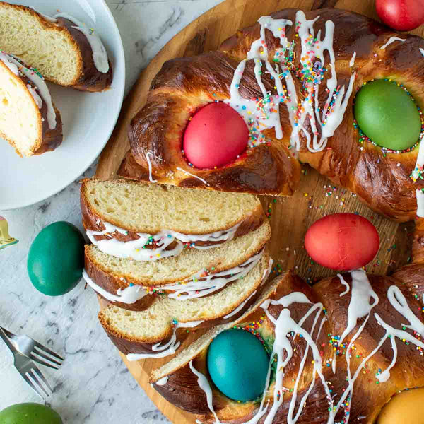 Italian Easter Bread is Italy's answer to Hot Cross Buns