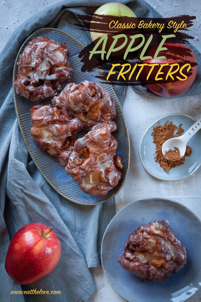 This homemade apple fritters recipe is better than any apple fritter you'll find at a bakery