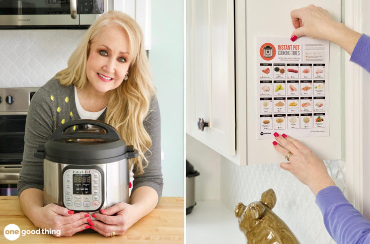 This Is The Best Cook Times Cheat Sheet For The Instant Pot, Period