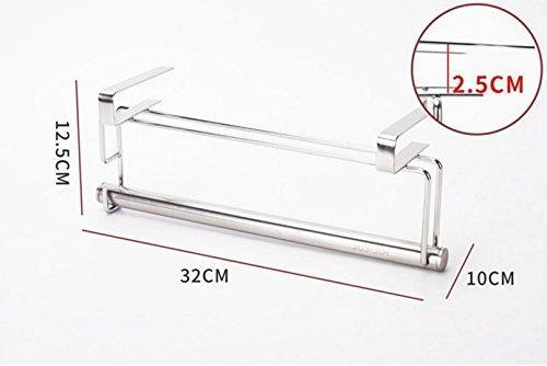Order now ximeiyangweiyu sus 304 stainless steel kitchen cabinet cupboard paper towel holder organizer hanger