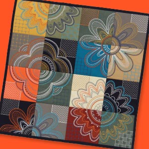 Modern Petals Machine Embroidery Designs CD