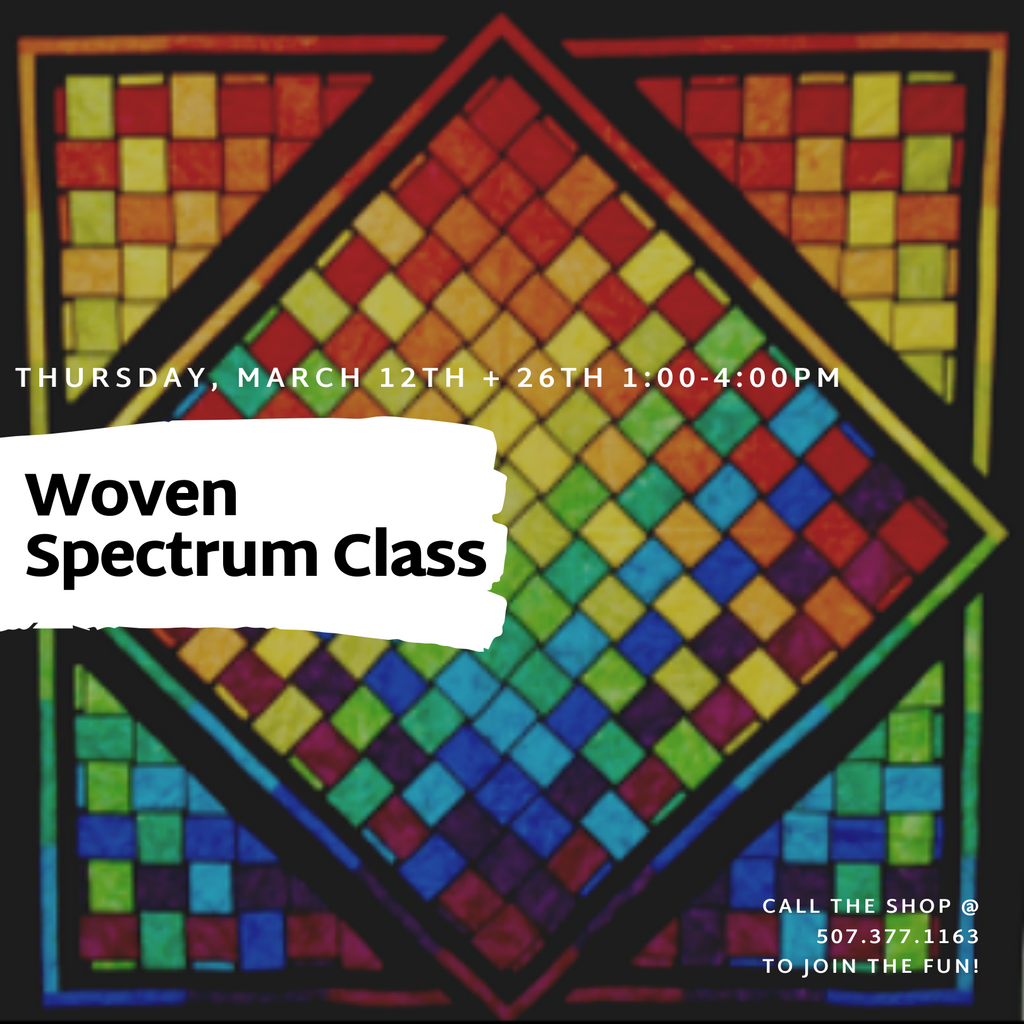 """Woven Spectrum"" Class - March 12 & 26"