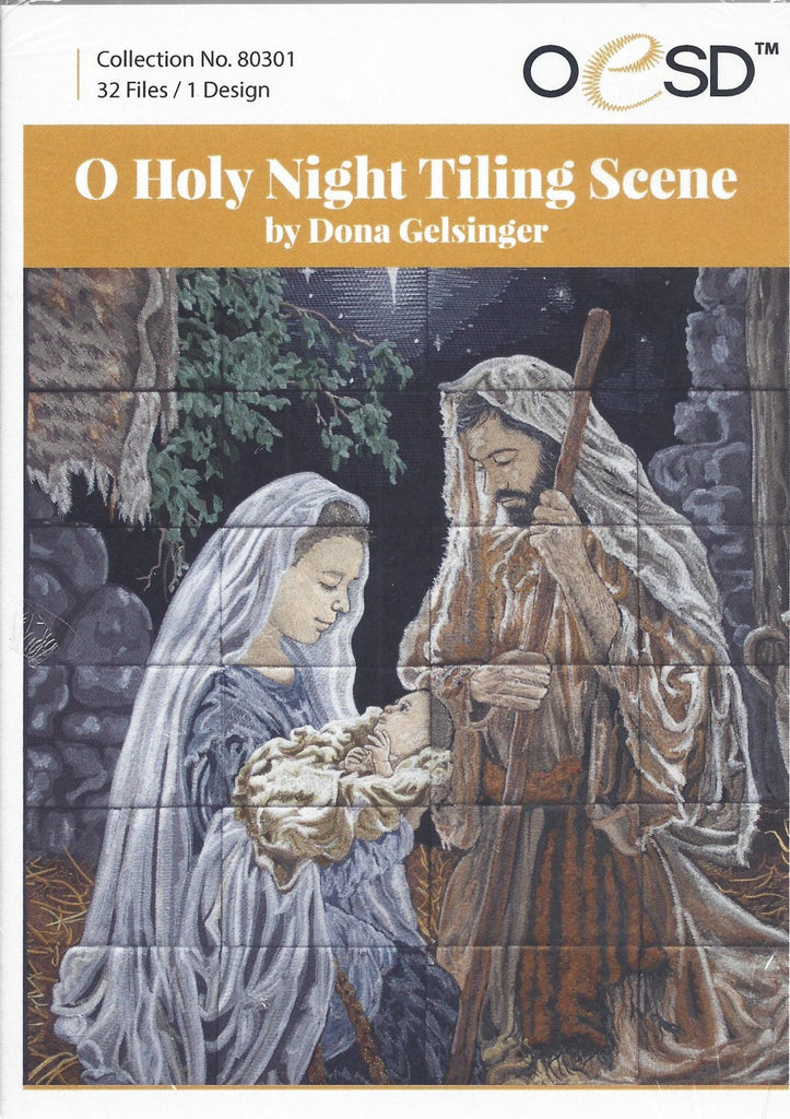 O Holy Night Machine Embroidery Designs CD