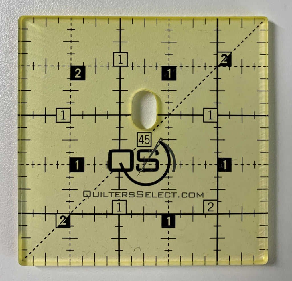 "2.5"" Square Quilter's Select Ruler"