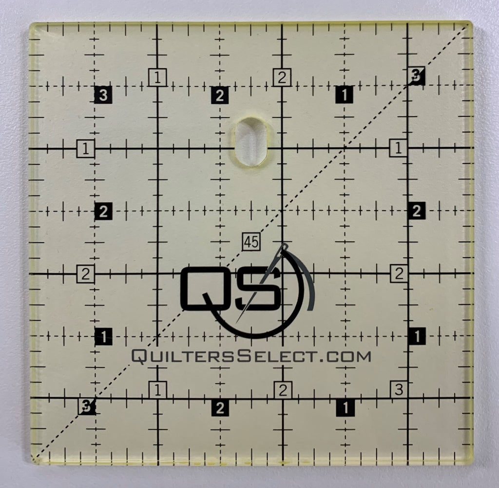 "3.5"" square Quilter's Select Non-Slip Ruler"