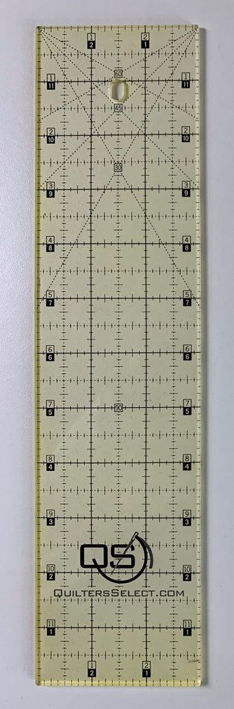 "3"" x 12"" Quilter's Select Non-Slip Ruler"