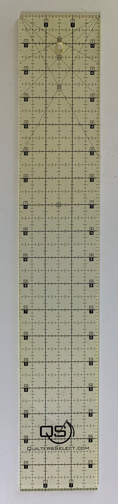 "3"" x 18"" Quilter's Select Non-Slip Ruler"