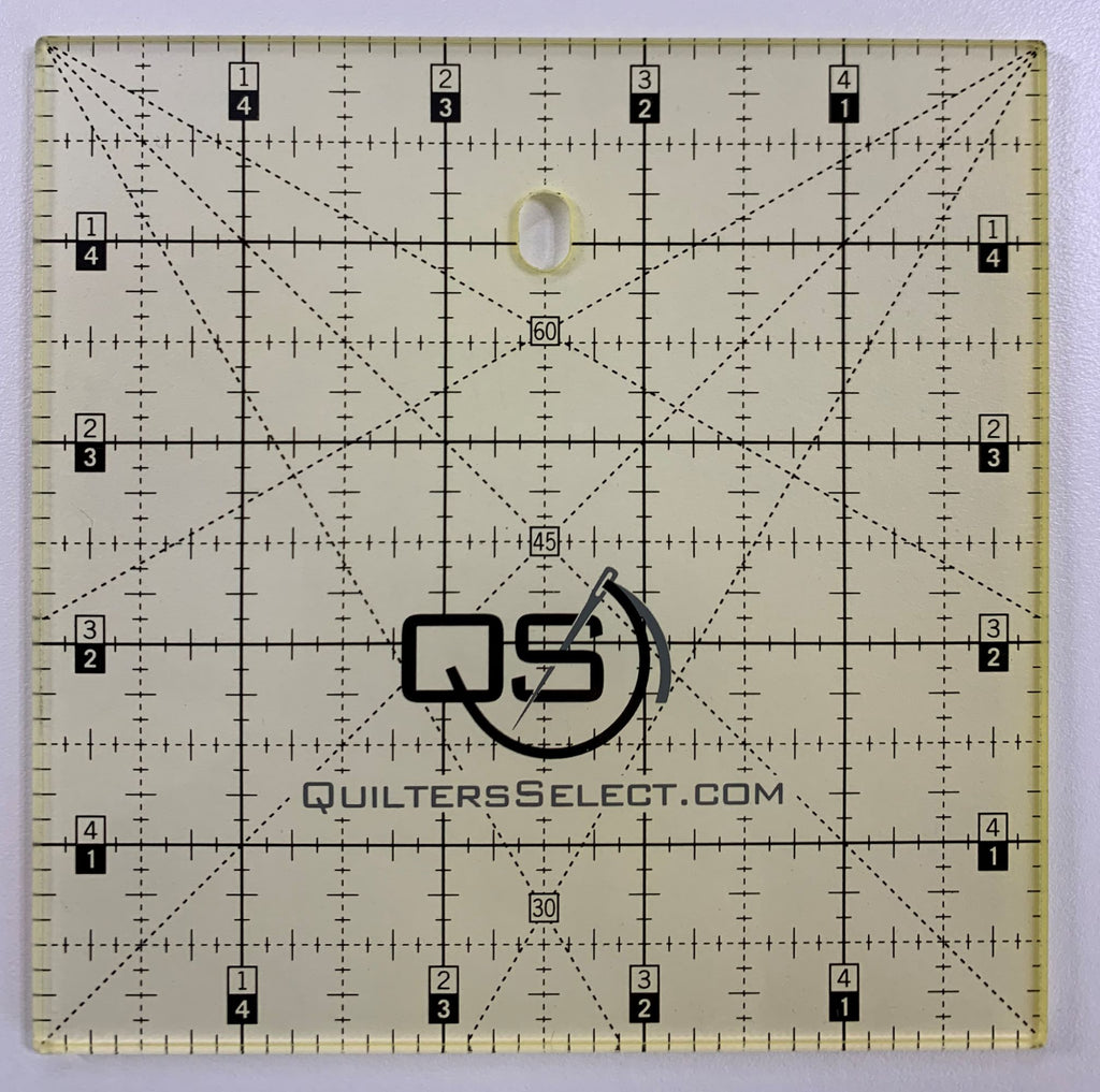 "5"" x 5""  Quilter's Select  Non-Slip Ruler"