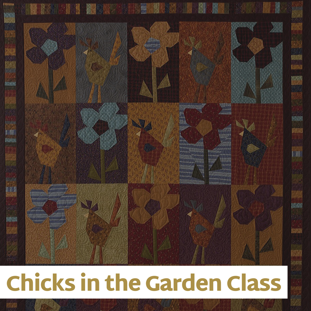 """Chicks in the Garden"" Class - April 16"