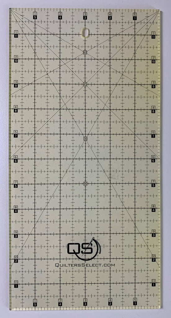 "6"" x 12"" Quilter's Select Non-Slip Ruler"