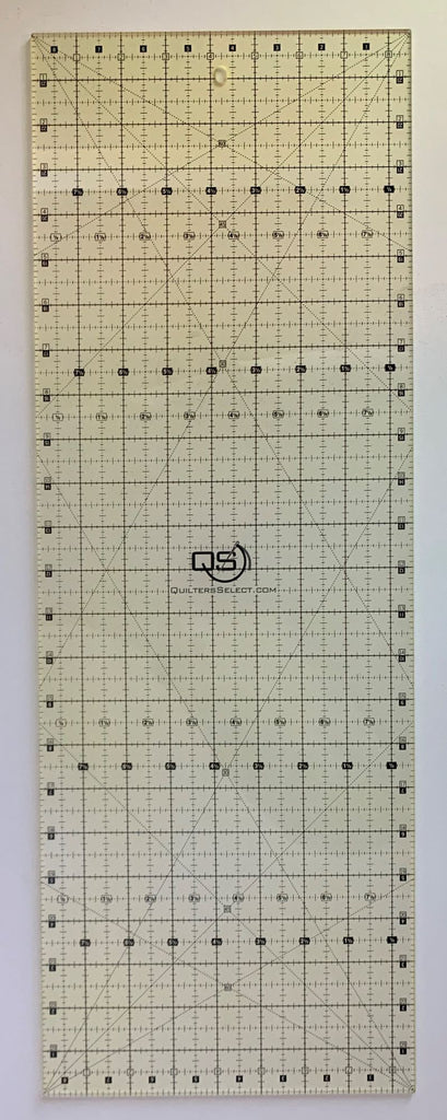 "8.5"" x 24"" Quilter's Select Non-Slip Ruler"