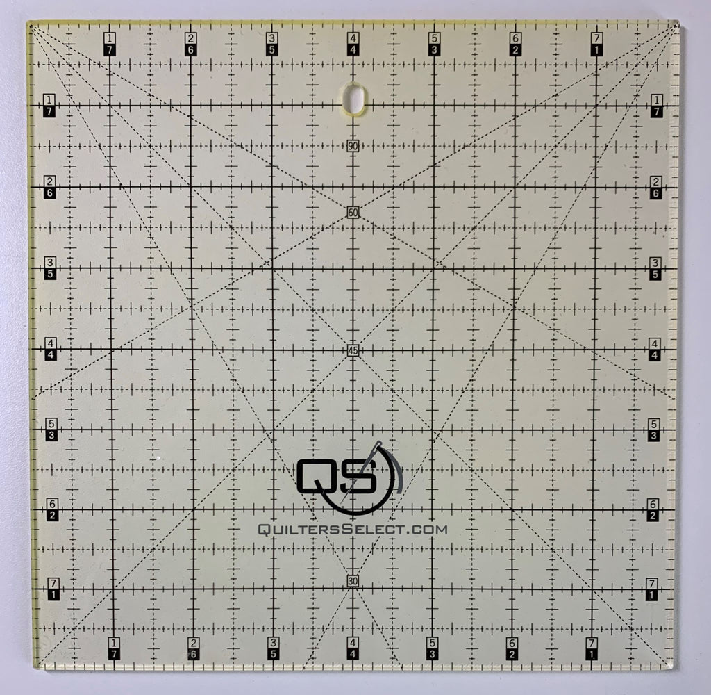 "8"" x 8"" Quilter's Select Non-Slip Ruler"