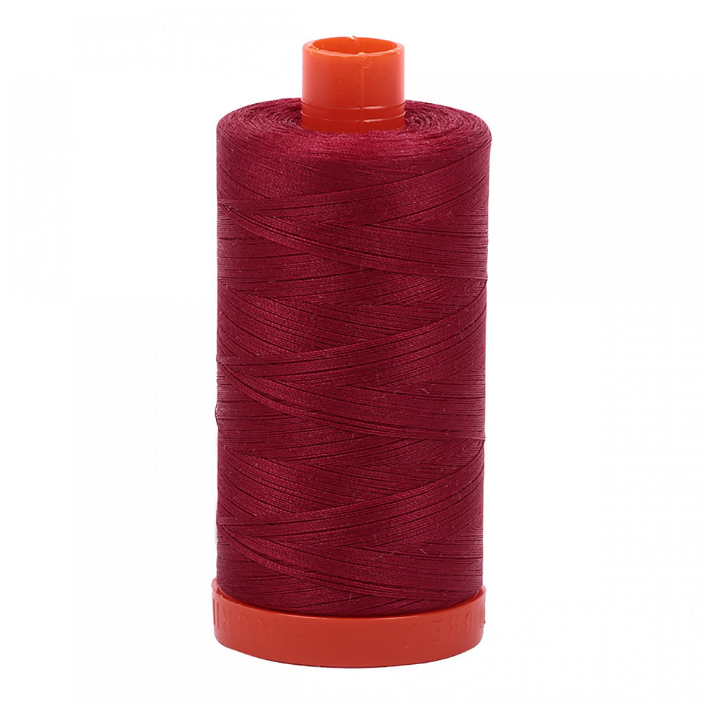 #MK50-1103 100% Cotton Aurifil 50wt Burgundy
