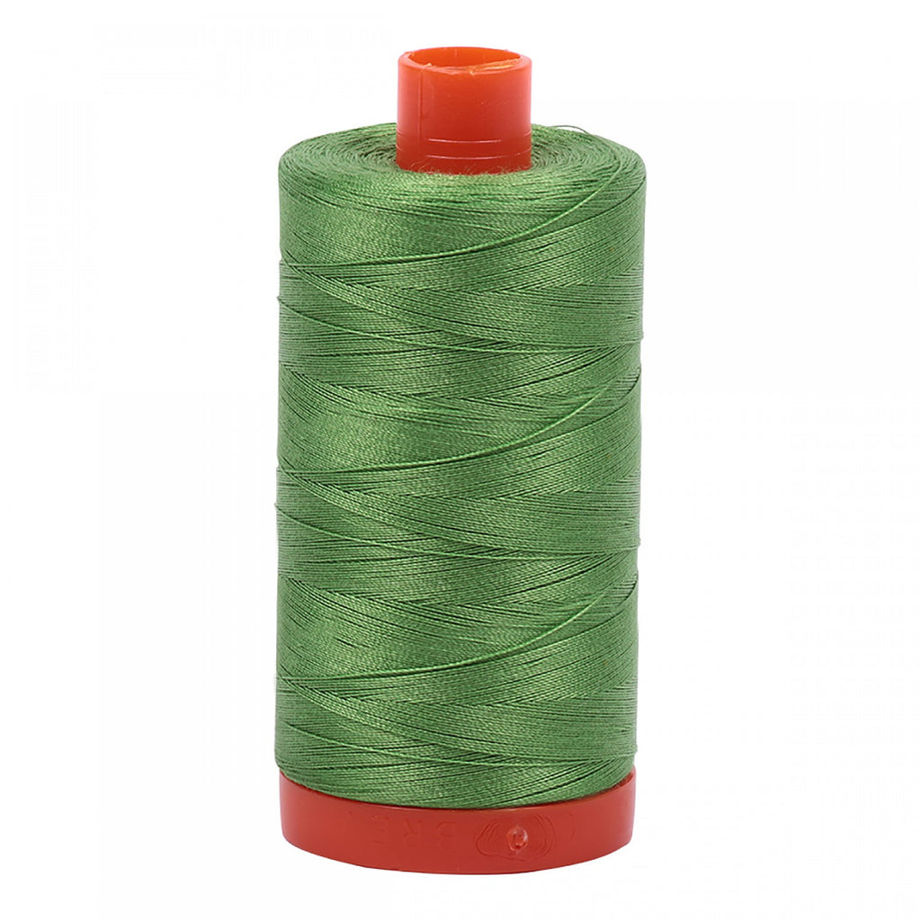 #MK50-1114 100% Cotton Aurifil 50wt Green Grass