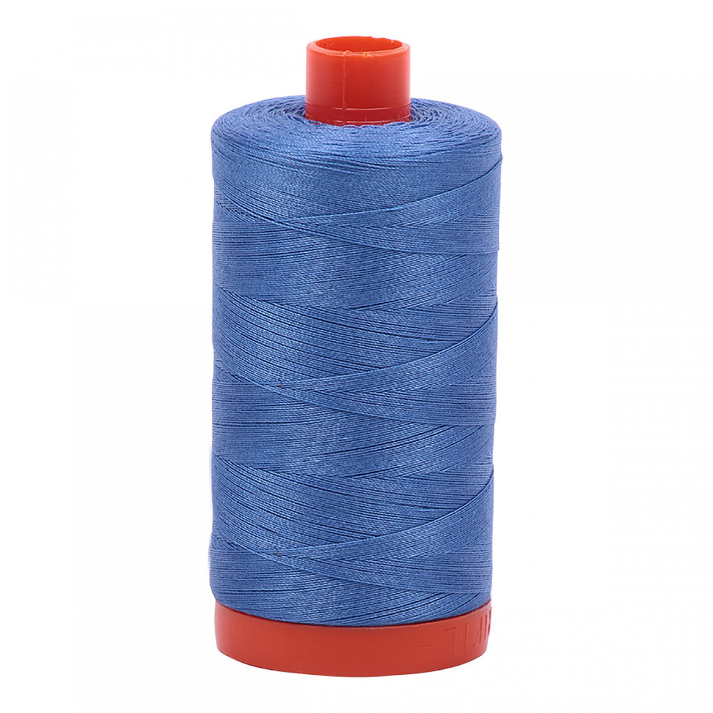 #MK50-1128 100% Cotton Aurifil 50wt Light Blue Violet