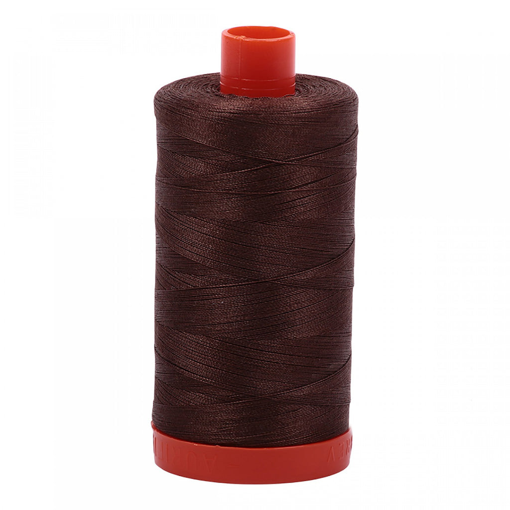 #MK50-1285 100% Cotton Aurifil 50wt Medium Bark