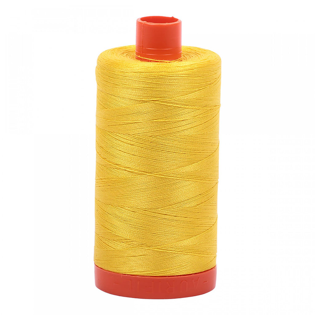 #MK50-2120 100% Cotton Aurifil 50wt Canary